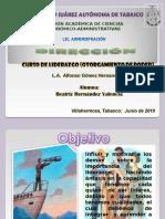 Dirección-Proyecto Liderazgo