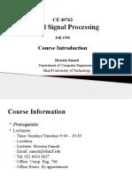 DSP Lecture01 Intro