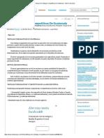 Ensayo de Ventajas Competitivas de Guatemala - Informe de Libros