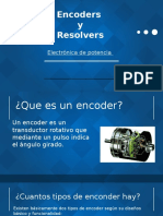 Encoders y Resolvers