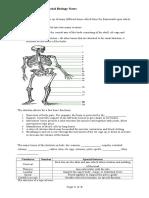 CSEC - Form 4 Human and Social Biology Notes