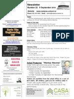 Newsletter Term 3 Week 7