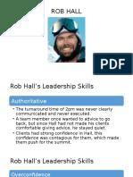 ROB HALL - Everest Case
