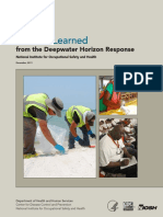 Lesson Learned from Deepwater Horizon Response