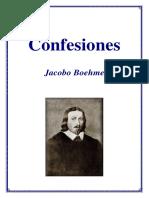 Jacob Boehme - Confesiones (Castellano)