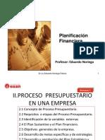 Semana 2 2011-1 Planificacion Financiera