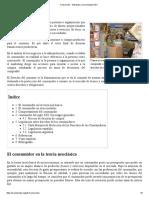 Consumidor - Wikipedia, La Enciclopedia Libre