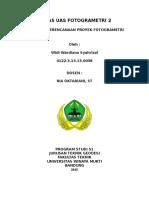 UAS Fotogrametri