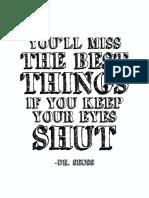 Dr Seuss Best Things