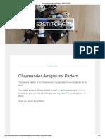 Charmander Amigurumi Pattern - 53STITCHES