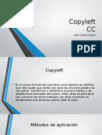 Copyleft y CC