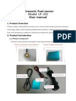Ultrasonic Fuel Sensor Data Sheet UF202