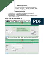 03 Applicant User Guide