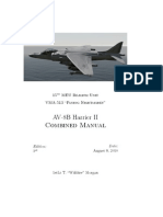 AV-8B Harrier II Combined Manual
