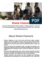 Sheela Chamaria Sculpture Classes in Delhi
