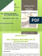 Cosntitucion y Derechos Humanos Art 150-157 Comentado