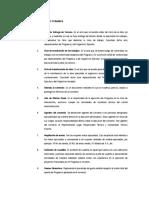 Glosario de Terminos en Obra Civil