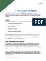 Global Grant Scholarship Supplement En