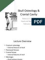 Skull Osteology & Cranial Cavity - TUSK