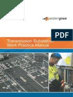 Transmission Substation Work Practice Manual 2016-07-22