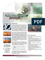 T006415 Shutdown Maintenance Course Brochure Issue 2 00