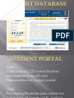 Student Database Presentation