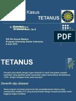 Presentasi Kasus Mela - Tetanus