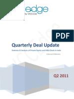 VCCEdge Quarterly Deal Update - Q2 2011