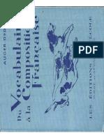 Auger-Dedieu, Du Vocabulaire à La Composition Française, Fin d'Études Primaires CEP (1955)