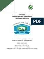 Pedoman Pendidikan Pasien Pekauman