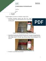 Metode Kerja Penetrant Test