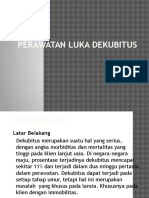 Perawatan Luka Dekubitus Power Point