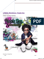LYRICS_ Stonebwoy- People Dey _ Latest Ghana Music