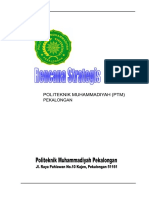 Renstra Politeknik Muhammadiyah Pekalongan 2012-2017