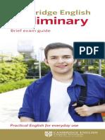 139154 Cambridge English Preliminary Dl Leaflet