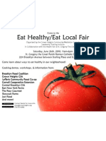 Eat Healthy/Eat Local LTI Fair