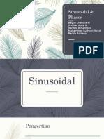 Sinusoidal & Phasor