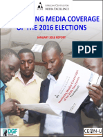 Monitoring Media Coverage of the 2016 Elections/January Report