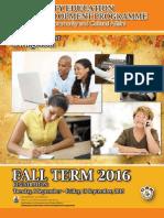 6954 CEDP Fall 2016 Term Final