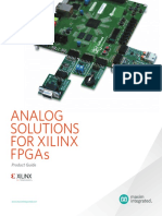 Analog Solutions for Xilinx FPGAs