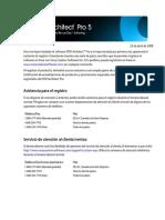 Dvd Architect Pro 5.0 Qsg Esp