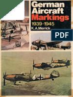 German Aircraft Markings 1939-1945