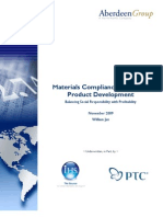 Materials Compliance for Green Product Development