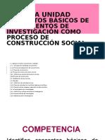 Fundamentos de Investigacion Unidad 1