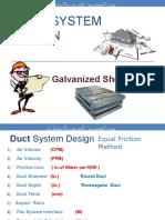 Duct System Design