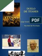 Analisis de la pelicua - Duelo de titanes
