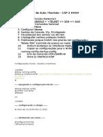 Configurações Iniciais - Routers e Switches CCNA 1