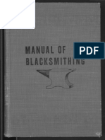 Manual of Blacksmithing