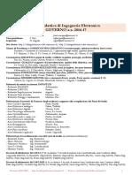 ManifestoSintetico lm elettronica 2016-17 sapienza