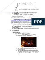 close and open circuit.docx
